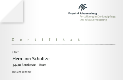 Zertifikat – Anstriche, Beschichtungen und Farbfassungen im Außenbereich