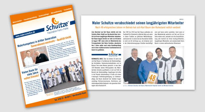 Maler Schultze | Aktuelles