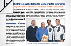 Presse-Beitrag: Abschied von Karl Baum