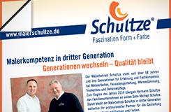 Presse-Beitrag: Malerkompetenz in dritter Generation